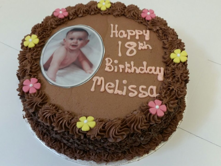 Happy 18th Birthday Melissa Jakes Cakes Restaurant Bakery